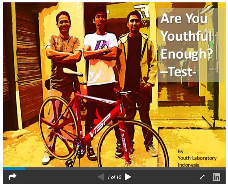 Are you youthful enough test: A youth marketing test for Indonesian brand manager
