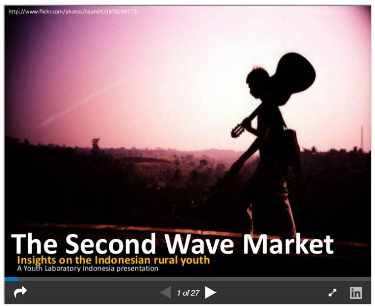 The second wave market: Insights on Indonesian rural youth marketing trends