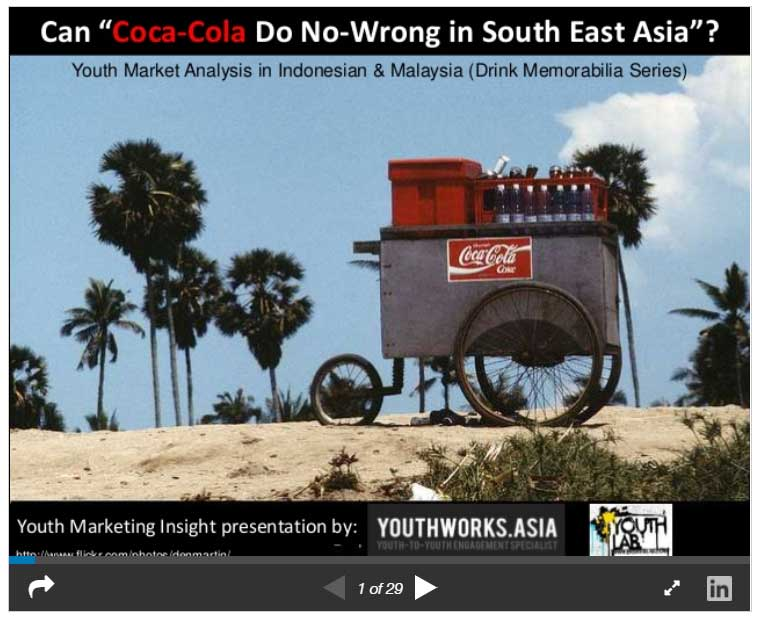 Can Coca-Cola Do No-Wrong in South East Asia?