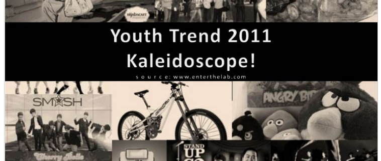 Indonesian Youth market trends 2012: flashback youth market review and data of 2011 Kaleidoscope