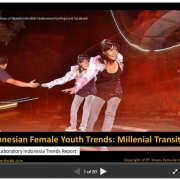 Indonesian Female Youth Trends: Millenial Transitions