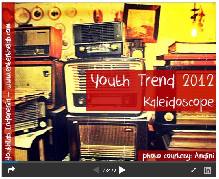 Youth Trend 2012 Kaleidoscope