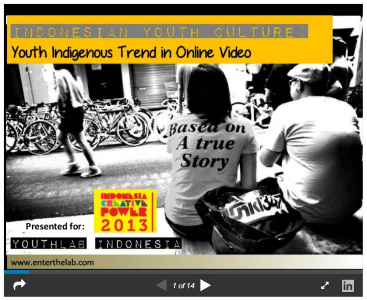 Youth Indigenous Trend in Online Video