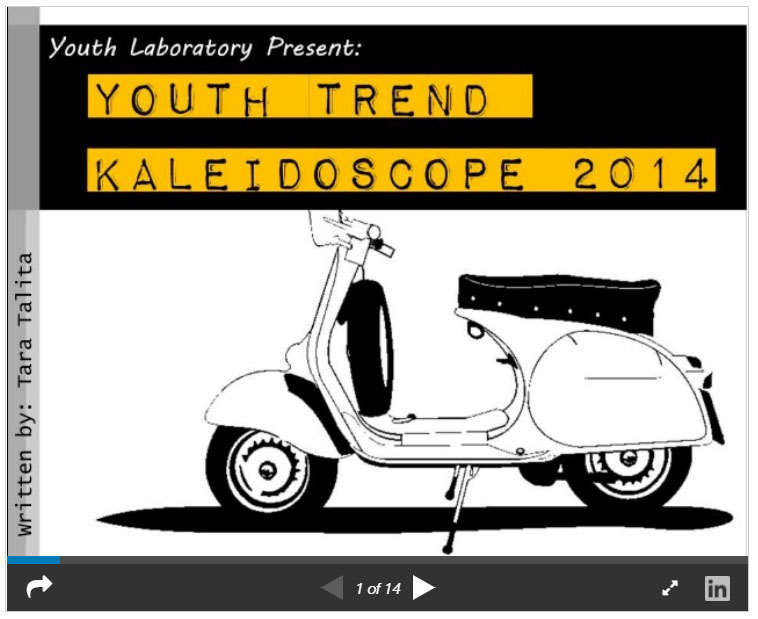 Youth Trend 2014 Kaleidoscope