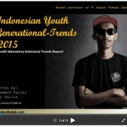 Indonesian youth generational trends 2015 TEASER