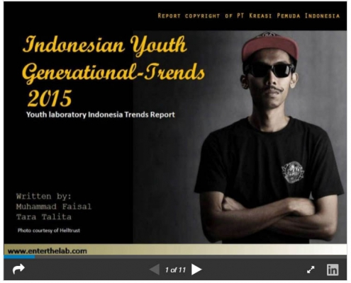Indonesian youth generational trends 2015 - TEASER