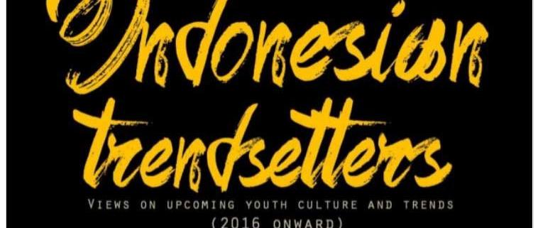 Indonesian Trendsetters 2016