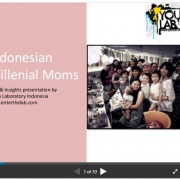 Indonesian millenal moms: The Indonesian young mother market trends