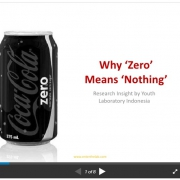 Why zero means nothing:coca-cola brand among Indonesian youths