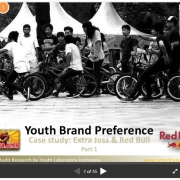 Youth Brand Preference; Extra Joss & Red Bull (Brand Audit 1/2)