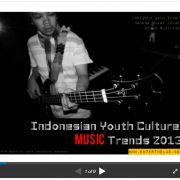 Indonesian Youth Culture: Music Trends 2013