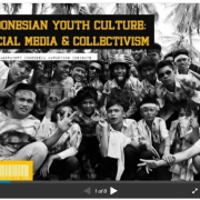 Indonesian Youth Culture: Social Media and Collectivism