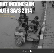 What Indonesian Youth Says 2014: Survey results on Activities and Media Habit