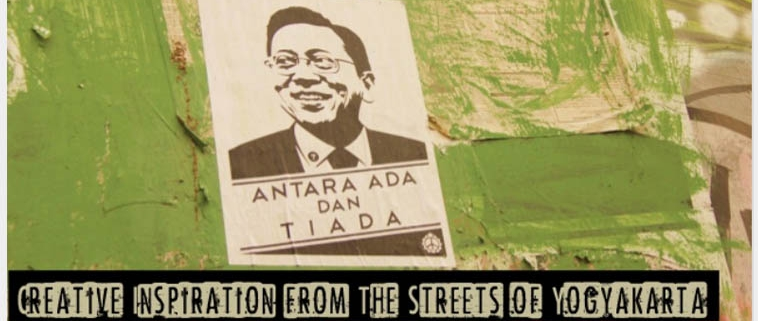 Creative Inspiration from the streets of Yogyakarta